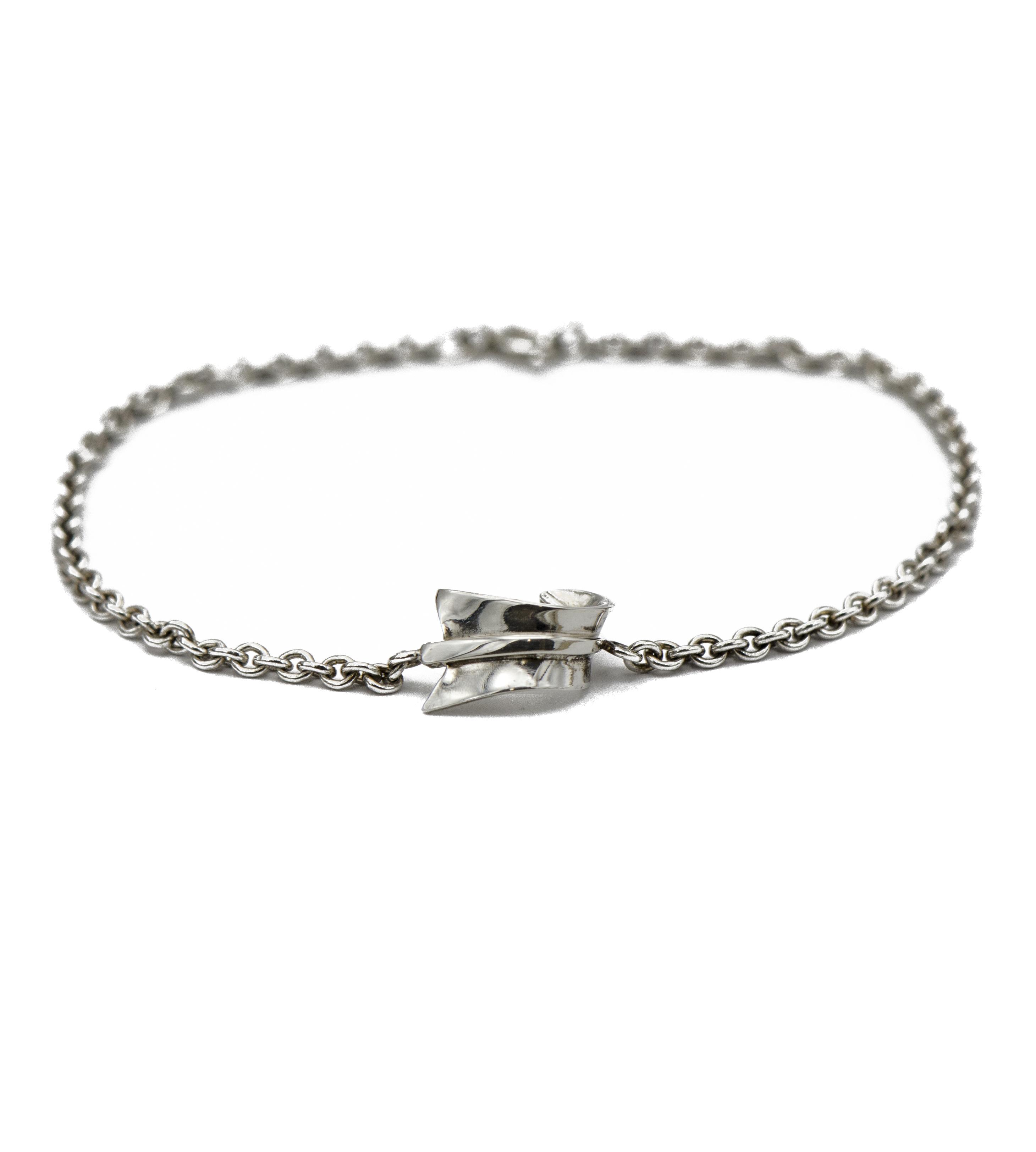 Tiffany Co Angela Mings Bent Arrow Bracelet