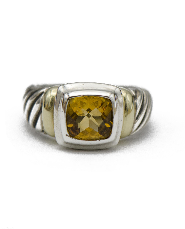 David Yurman Citrine Noblesse Ring Sandler S Diamonds Time Columbia Sc Mt Pleasant